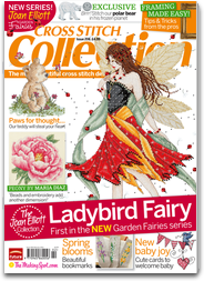 Cross Stitch Collection: the best magazine for beautiful cross stitch designs and patterns free software for iPhone, iPod and iPad